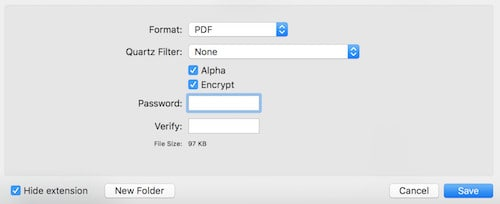 crypter un PDF